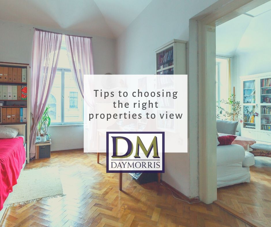 Tips To Choosing The Right Properties To View