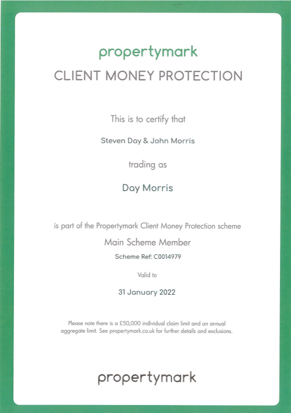 Propertymark Certificate 1